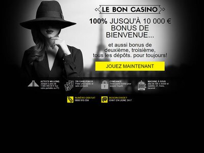 Le Bon Casino site captures d