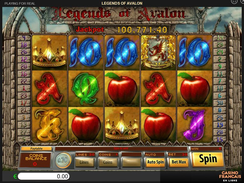 jeux Legends Of Avalon