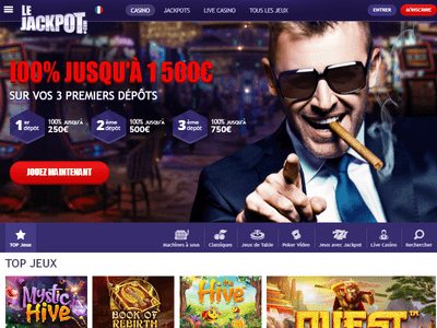 LeJackpot Casino site captures d