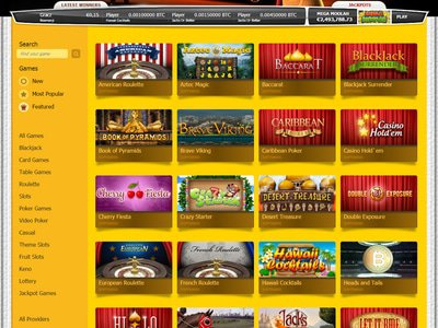 LimoPlay Casino logiciel captures d