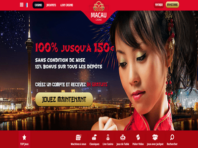 Macau Casino site captures d