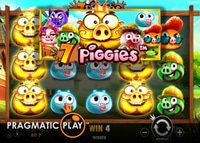 La machine à sous 7 Piggies de Pragmatic Play sort bientôt