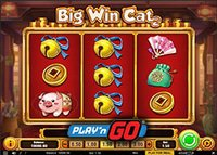 Machine à sous Big Win Cat de Play'N Go enfin disponible