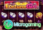 Machine à sous Fortune Girl disponible sur les casinos Microgaming