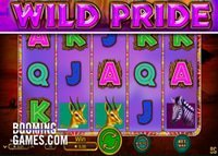 Machine à sous Wild Pride disponible sur les casinos Booming Games