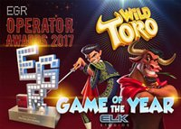 Machine à sous Wild Toro désignée Game of the Year