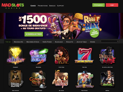 Mad Slots site captures d