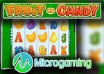 Microgaming lancera la nouvelle machine à sous Fruit vs. Candy