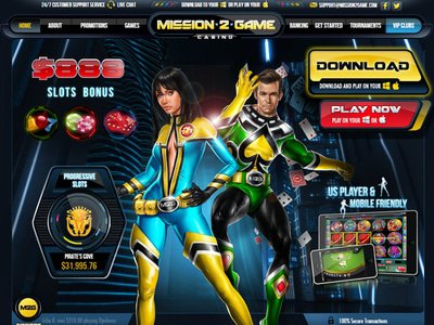 Mission 2 Game Casino site captures d