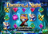 Nouvelle machine à sous Theatre of Night lancée par NextGen