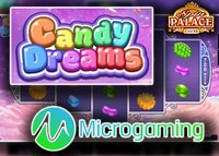 Nouvelle machine à sous Candy Dreams disponible sur Spin Palace