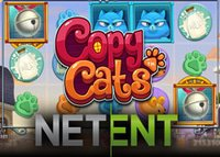 Nouvelle machine à sous Copy Cats de NetEnt enfin disponible
