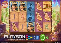 Nouvelle machine à sous en ligne Kingdom of the Sun de Playson