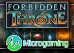 Nouvelle machine à sous Forbidden Throne lancée par Microgaming