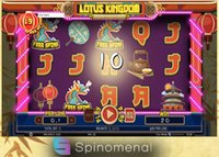 Nouvelle machine à sous Lotus Kingdom de Spinomenal disponible