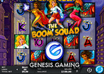 Nouvelle machine à sous The Boom Squad de Genesis Gaming
