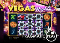 Nouvelle machine à sous Vegas Nights de Pragmatic play disponible