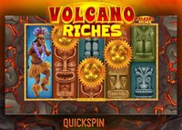Nouvelle machine à sous Volcano Riches de Quickspin