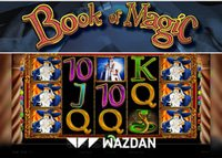 Nouvelle machine à sous de Wazdan : Book of Magic Deluxe