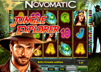Novomatic lance la nouvelle machine à sous Jungle Explorer