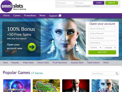Omni Slots Casino site captures d