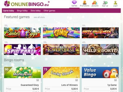 Online Bingo Casino site captures d