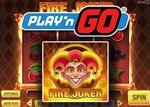 Play'n Go lance la machine à sous Fire Joker
