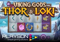 Playson annonce la machine à sous Vikings Gods : Thor and Loki