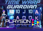 Playson lance bientôt la machine à sous Time Warp Guardian