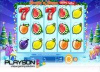 Playson lance sa machine à sous Fruits 'n' Stars: Holiday Edition