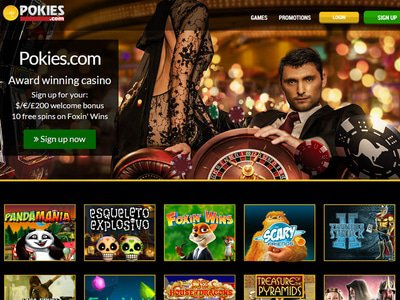 Pokies Casino site captures d