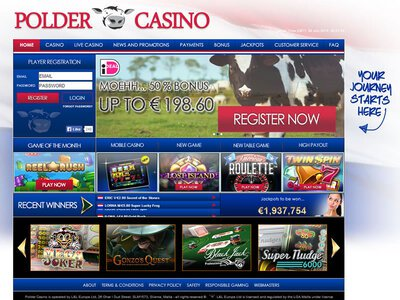 Polder Casino site captures d