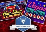 Hot Shot Casino et Vegas Downtown Slots nominées en 2015