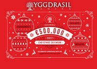 Promotion €500 000 Christmas Calendar d'Yggdrasil Gaming