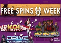 Promotion Free Spins Week de Wild Sultan Casino
