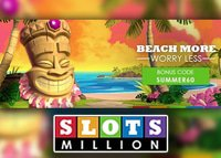 Promotion Summer Promo en cours sur Slots Million