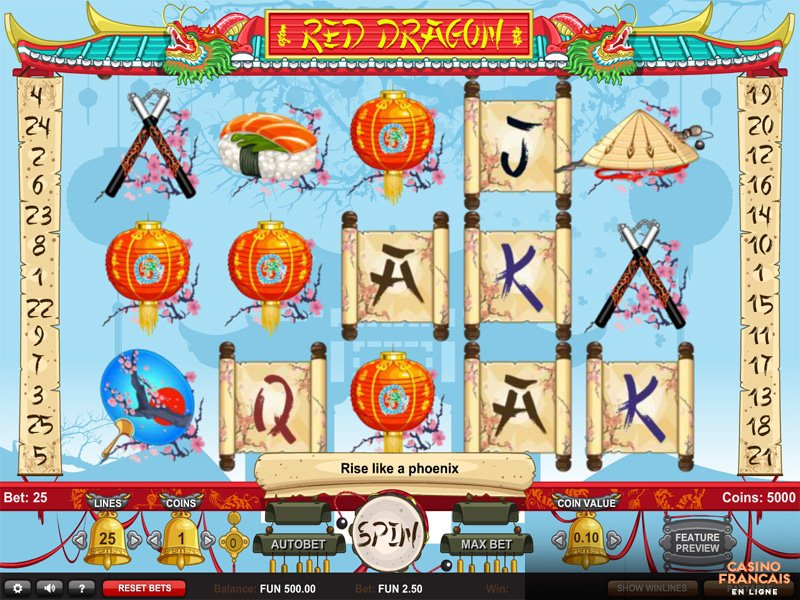 jeux Red Dragon