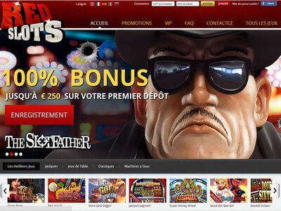 Red Slots Casino site captures d