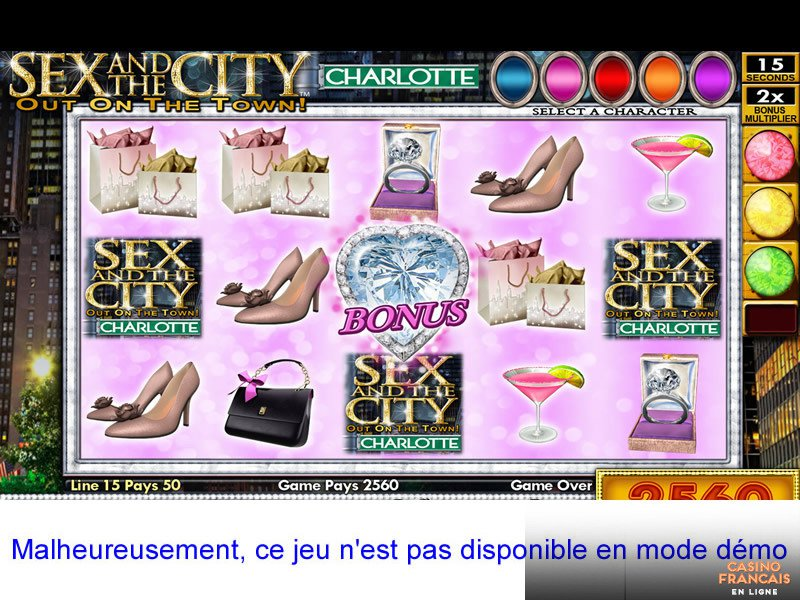 jeux Sex and The City
