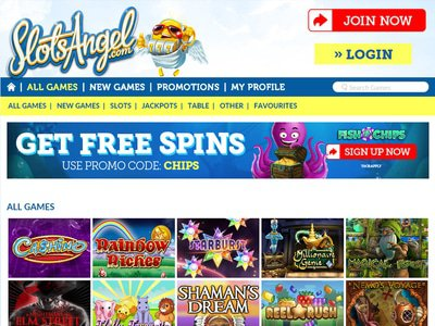 Slots Angel Casino logiciel captures d
