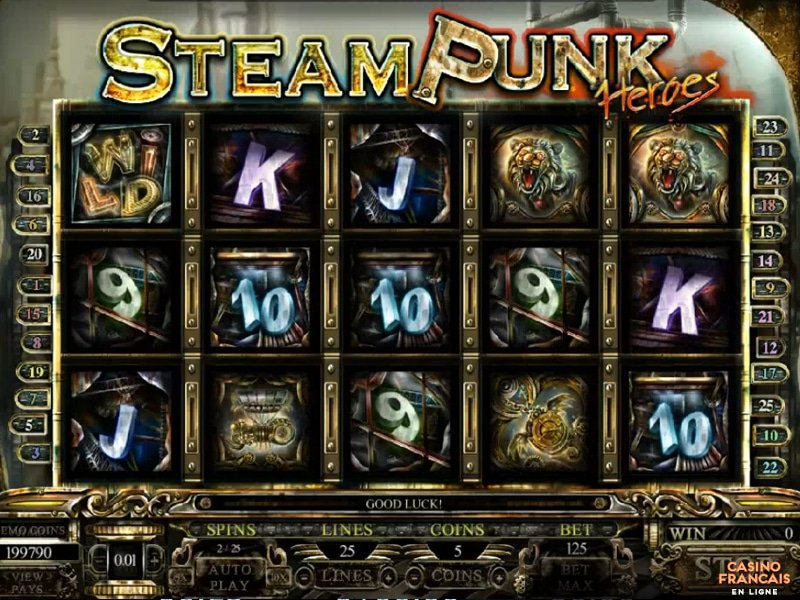 jeux Steam Punk Heroes