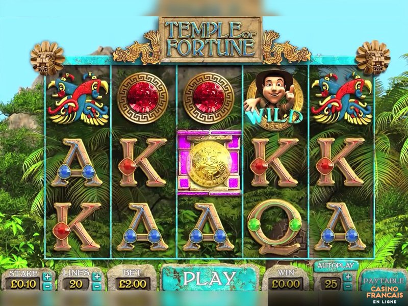jeux Temple of Fortune