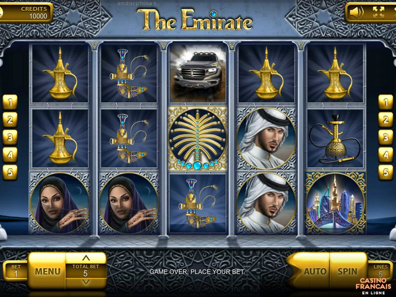 jeux The Emirate