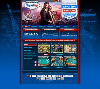 Vegas Days Casino site captures d