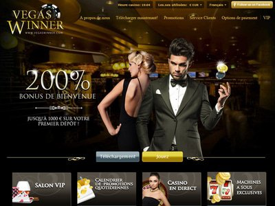 Vegas Winner Casino site captures d