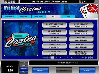 Virtual City Casino logiciel captures d