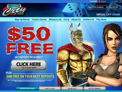 Virtual City Casino site captures d