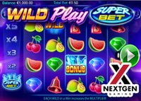 Wild Play SuperBet : Nouvelle machine à sous de NextGen Gaming