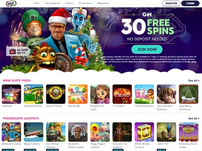 Wink Slots Casino site captures d